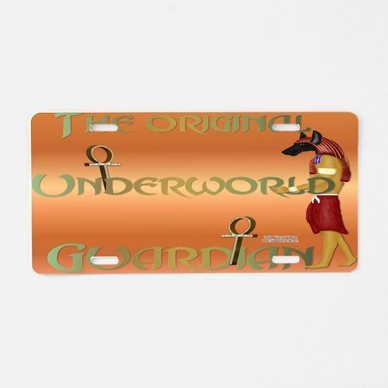 Underworld Guardian Aluminum License Plate