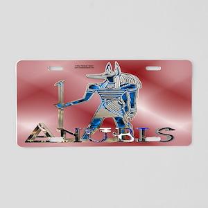 Anubis 3D License Plate