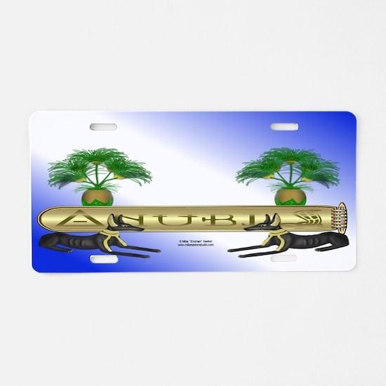 Anubis License Plate