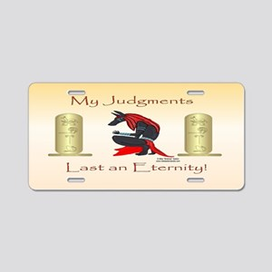 Anubis Judgment License Plate