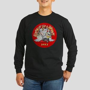 circle_logo Long Sleeve Dark T-Shirt