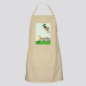 Jungle Zoo Party Kindle Apron