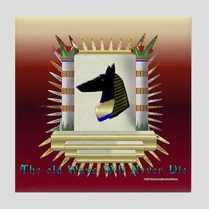 Anubis Wall Tile Coaster