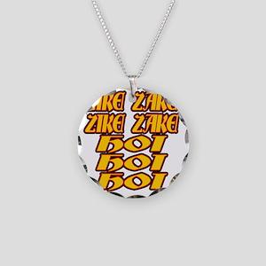 zike-zake-ryb Necklace Circle Charm