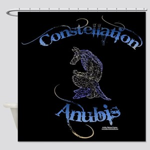 Constellation Anubis Shower Curtain