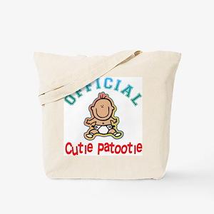 Official Cutie Patootie Tote Bag