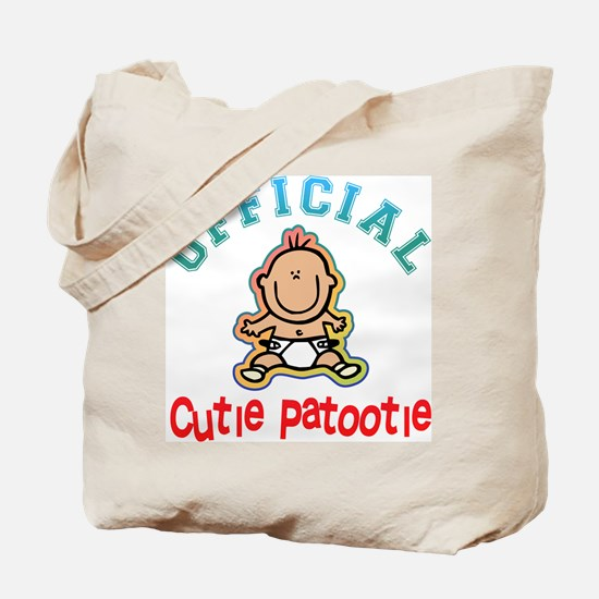 Official Cutie Patootie Tote Bag