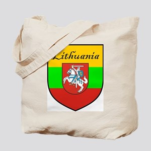 Lithuania Flag Crest Shield Tote Bag