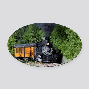 11x17 Around the Bend Oval Car Magnet