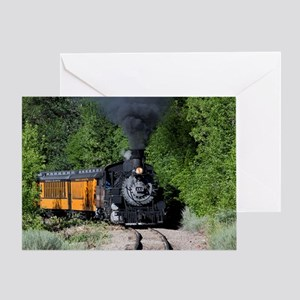 11x17 Around the Bend Greeting Card