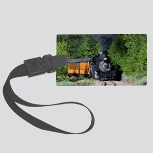 11x17 Around the Bend Large Luggage Tag