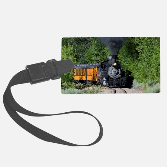11x17 Around the Bend Luggage Tag