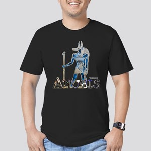 Anubis 3D Men's Fitted T-Shirt (dark)
