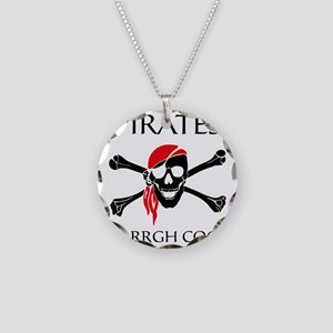 PiratesCool2 Necklace Circle Charm