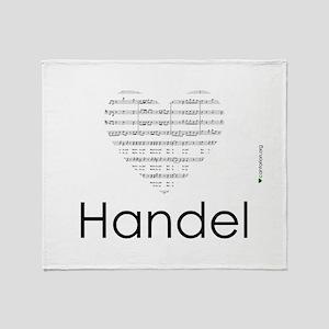 Handel mousepad Throw Blanket