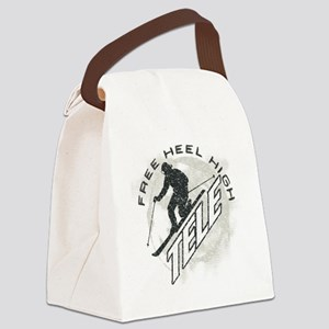 free heel high revise Canvas Lunch Bag