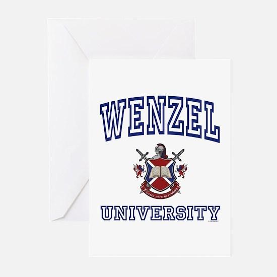 WENZEL University Greeting Cards (Pk of 10)