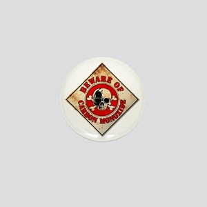 BewareCarbon Mini Button
