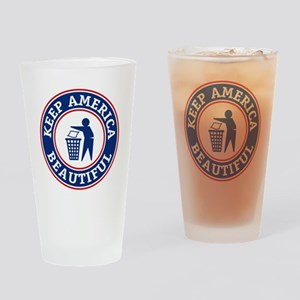 KeepAmerica Drinking Glass