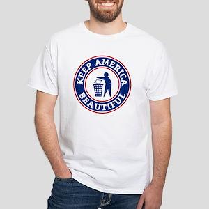 KeepAmerica White T-Shirt