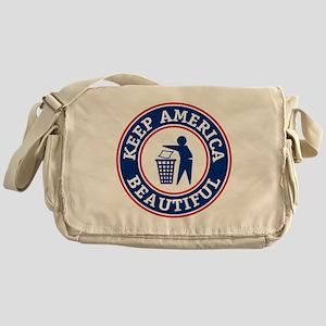 KeepAmerica Messenger Bag