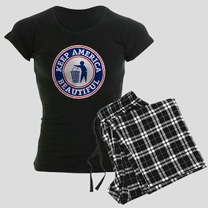 KeepAmerica Women's Dark Pajamas