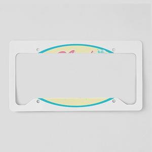 MomsLaundry_Oval License Plate Holder