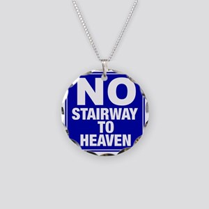 NoStairway Necklace Circle Charm