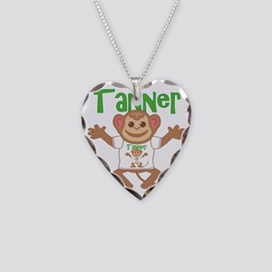 tanner-b-monkey Necklace Heart Charm