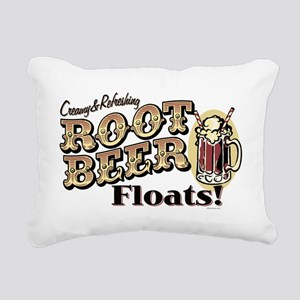 RootBeerFloats Rectangular Canvas Pillow