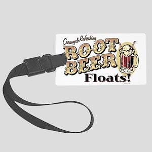 RootBeerFloats Large Luggage Tag