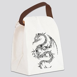dragon Canvas Lunch Bag