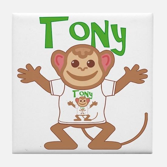 tony-b-monkey Tile Coaster