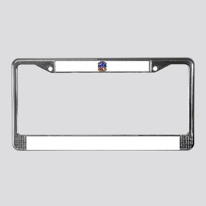 1001st Security Police License Plate Frame
