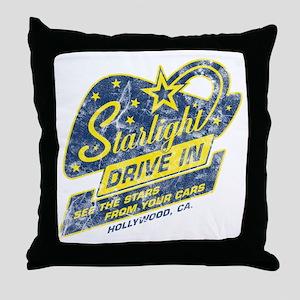 Starlight_DriveIn Throw Pillow