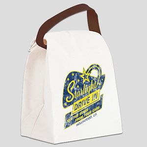 Starlight_DriveIn Canvas Lunch Bag
