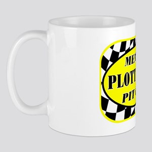 plotthoundpitcrew_black Mug