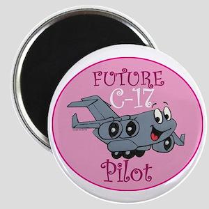 Mil 2 C17 baby pilot F Magnet