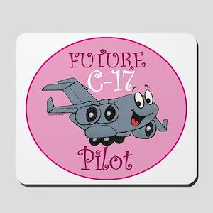Mil 2 C17 baby pilot F Mousepad