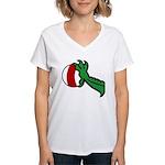 Midrealm Dragon's Treasure Women's V-Neck T-Shirt