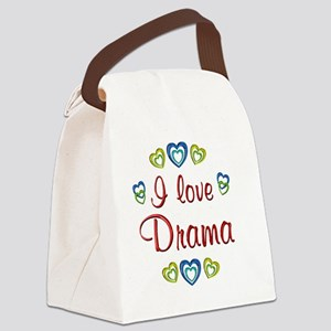drama Canvas Lunch Bag