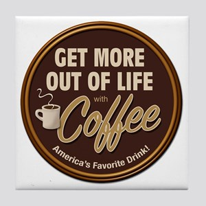 MoreOutOfLife_Coffe Tile Coaster