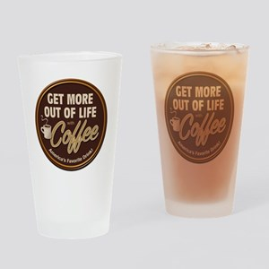 MoreOutOfLife_Coffe Drinking Glass