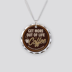 MoreOutOfLife_Coffe Necklace Circle Charm