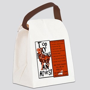 Aries8 Canvas Lunch Bag