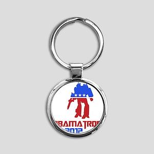 obamatron Round Keychain