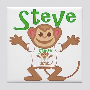 steve-b-monkey Tile Coaster