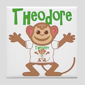 theodore-b-monkey Tile Coaster