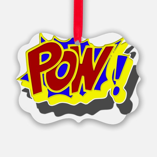 comic book pow Ornament