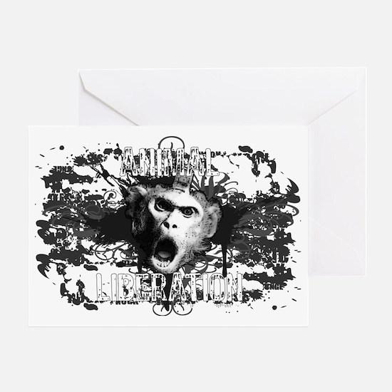 animal-liberation-01 Greeting Card